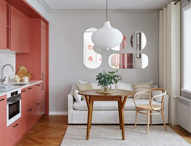Милая квартира с женственным дизайном в Алма-Ате (46 кв.м)