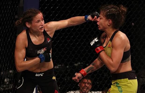UFC: украинка Мороз установила рекорд почислу ударов в3-раундовом бою вженском наилегчайшем весе