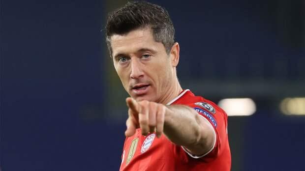 Левандовски забил 36-й гол в сезоне Бундеслиги. До рекорда Мюллера — 4 мяча