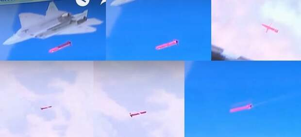 Су-57 нанесли удар по террористам в Сирии перспективными крылатыми ракетами