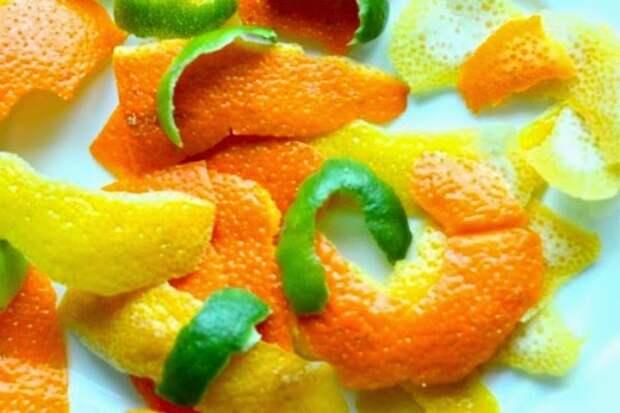 Чем полезна кожура апельсина?