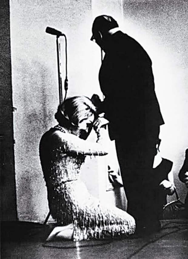 Зачем Марлен Дитрих встала на колени перед Константином Паустовским