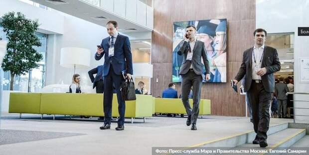 Бизнес-центру на Бауманской грозит штраф за нарушение антиковидных мер. Фото: Е. Самарин mos.ru