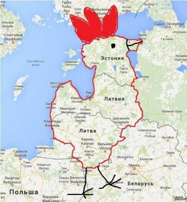 Эстония - мировая держава
