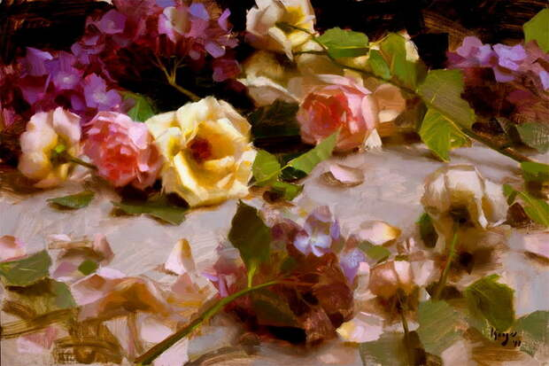Roses and Hydrangeas sm (700x467, 133Kb)