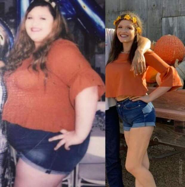 19-летняя девушка похудела на 89 кг и изменила свою жизнь