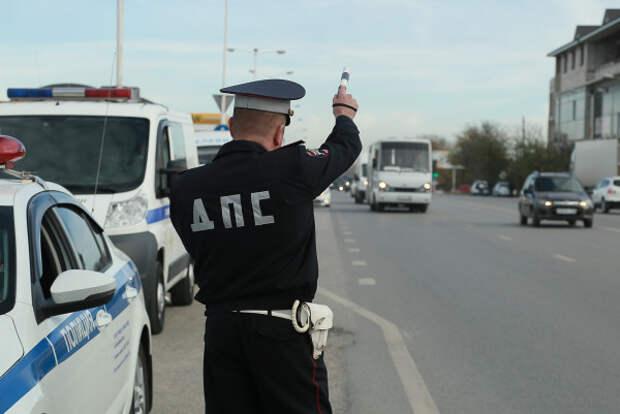 Полицейские Крыма проводят операцию «Мотоциклист»