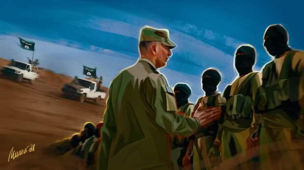 Террористы ИГ и военные коалиции