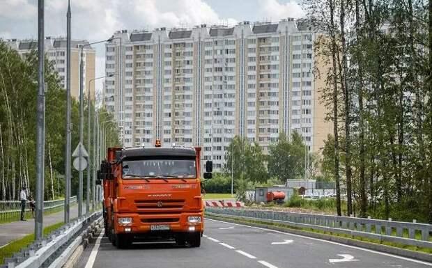 В грузовой каркас СЗАО вошли 30 улиц/ mos.ru