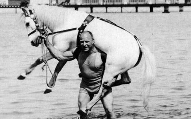Александр Засс: как картечь сделала их русского солдата знаменитого силача