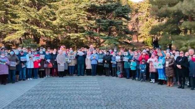 Крымчане просят Путина спасти Форосский парк от застройки
