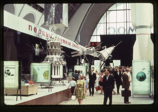"""Фотографии павильона """"Космос"""" ВДНХ. 1969 г."""