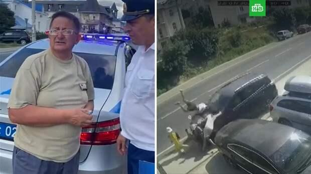 Сбивший шестерых пешеходов под Анапой заявил, что потерял сознание