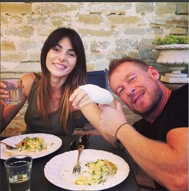 Сильвия с мужем, фото из http://instagram.com/silviacolloca