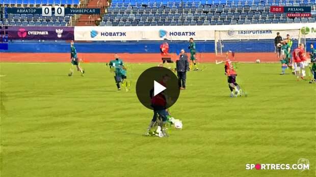 ФК Профтех - Заокское. 6-й тур Чемпионата ЛФЛ Рязань 21