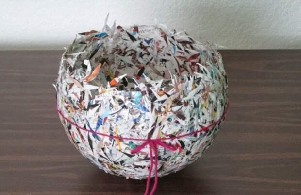 Что сделать с бумагой из шредера? 5 идей