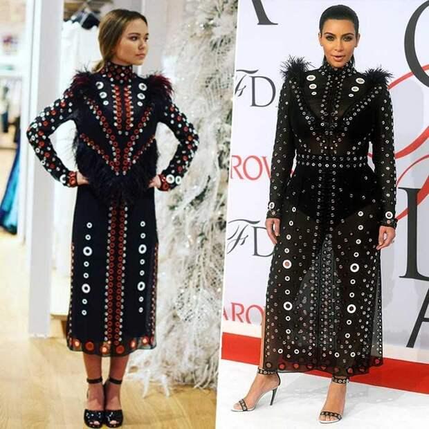 Российские звёзды против звёзд зарубежных: одинаковые наряды, но кто выглядит круче?