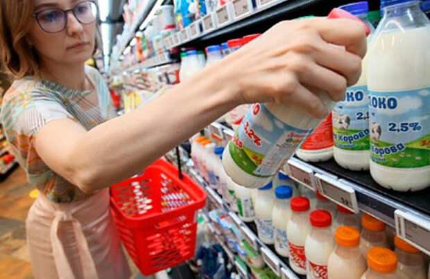 Молочный союз пожаловался на наценки в 150 процентов на продукты в магазинах