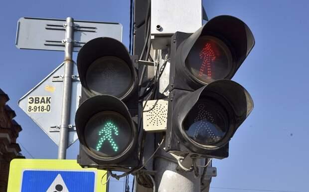На одном из перекрестков в Краснодаре отключили светофоры