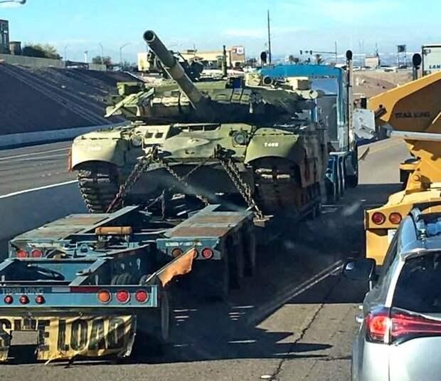 Фото Т-80УД из США: откуда у американцев танки с секретной динамической защитой «Нож»