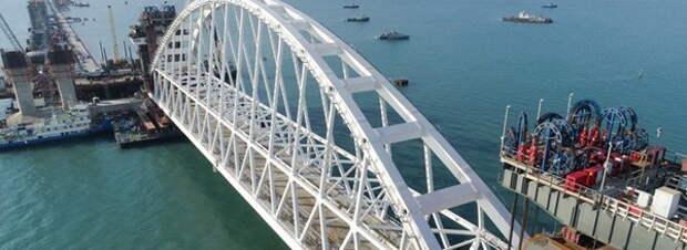 Строители Крымского моста затроллили Украину пампушками