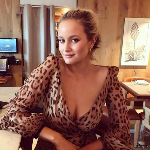 """Модель Playboy Симона Холцнагель: """"Большая грудь-это отстой"""""""