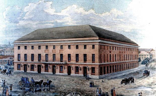 Петровский театр в Москве