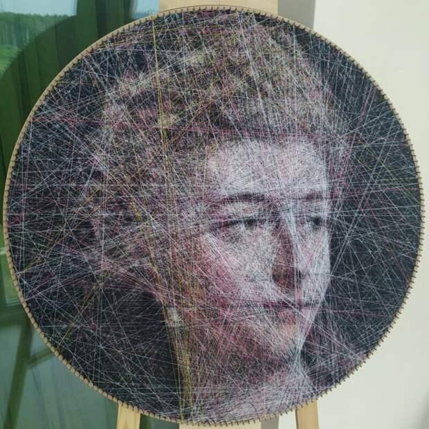 Гюстав Жан Жаке искусство, красиво, креатив, нити, программирование, рисунки, творчество, художники