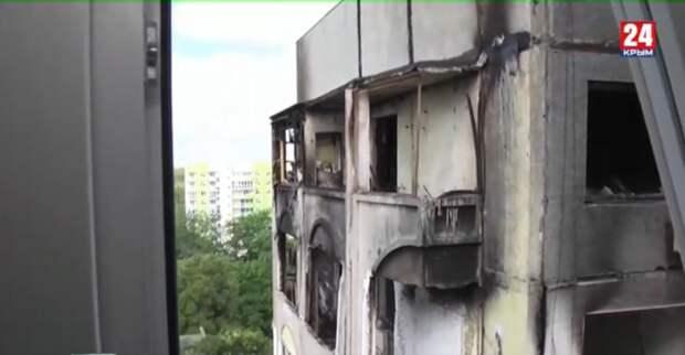 Покупка квартир и замена окон: в Керчи устраняют последствия трагического взрыва газа
