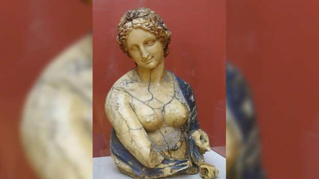 Исследователи доказали, что Леонардо да Винчи не создавал бюст Флоры