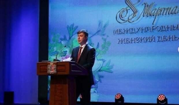 Алексей Логвиненко поздравил ростовчанок с 8 марта
