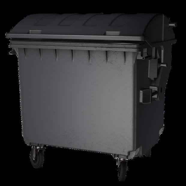 Мусорный Ящик, Изолированные, Изолированный, Утилизация