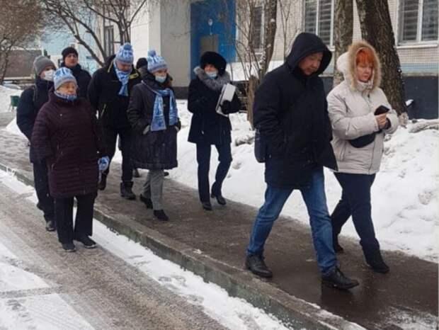 Плитка у входа в подъезд дома на Угличской  не будет скользить
