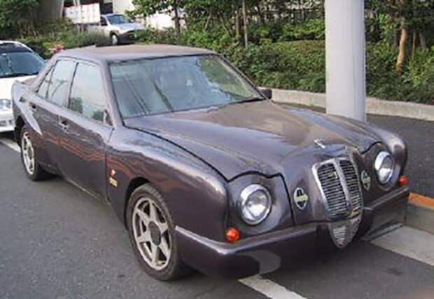 Denag Lorelei и Ambassador — экстремальный японский тюнинг Mercedes-Benz