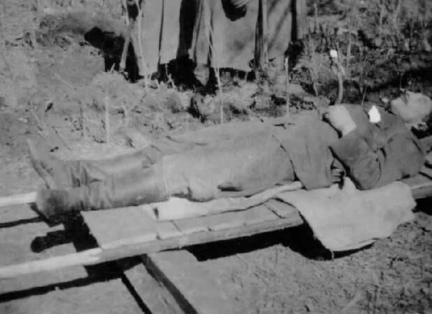 Каких погибших красноармейцев немцы хоронили с военными почестями