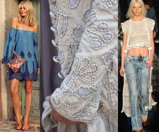 потрясающая подборка джинсовых идей в гардеробе