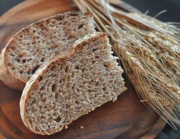 Хлеб «Докторский» с отрубями. \ Фото: vkusnosty.ru.