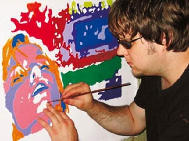 Сильные духом: слепой художник Джон Брамблитт