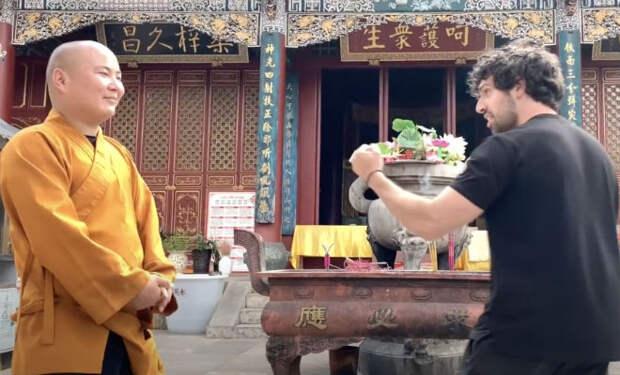 Монах Шаолинь против боксера