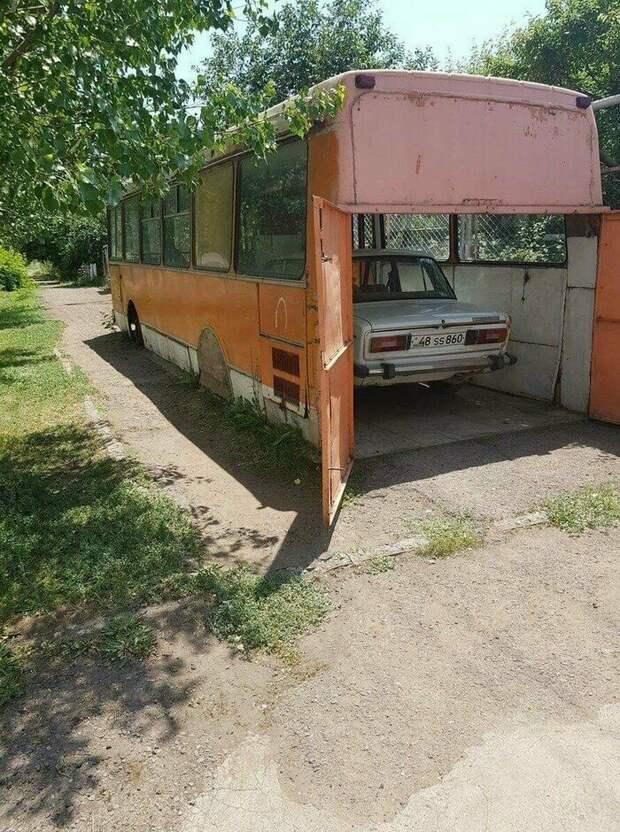 Российский гараж: слабакам тут не место