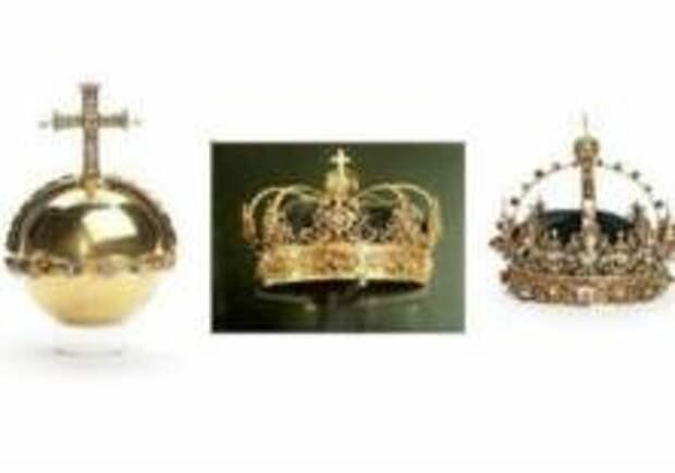 Королевские регалии Швеции нашли в помойке