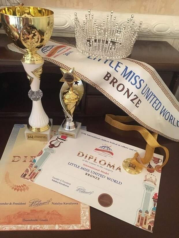 Юная крымчанка вошла в тройку самых красивых девочек мира (ФОТО)