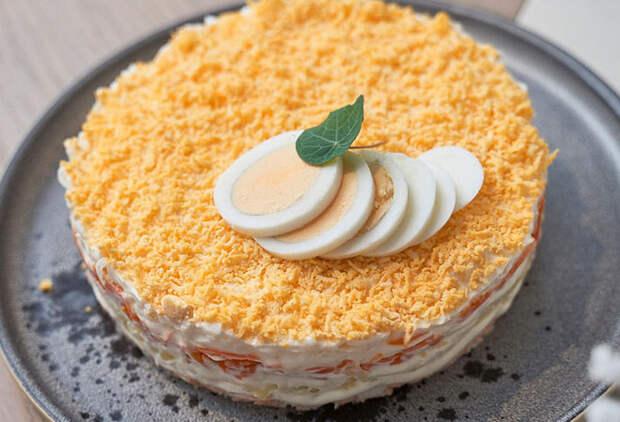 Мимоза: потрясающий рецепт от шеф-повара
