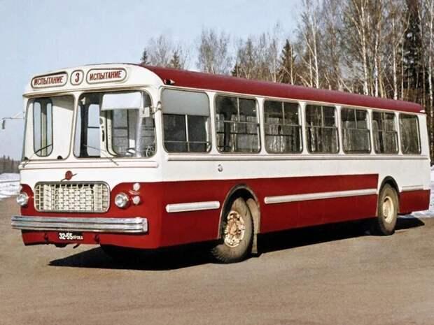 ЗИУ-6-2М автобусы, транспорт, это интересно
