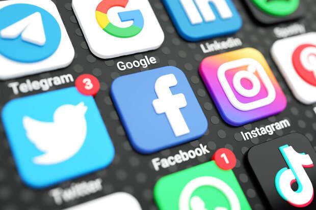 Суд утвердил новые штрафы против Facebook, Twitter и Telegram