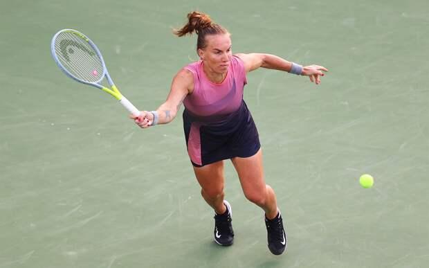Кузнецова победила Кристиан и вышла в полуфинал турнира в Санкт-Петербурге