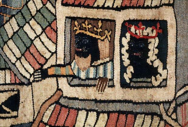 Гобелен, созданный в Европе в Средние века