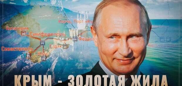 Путин забрал у Украины курицу, несущую золотые яйца