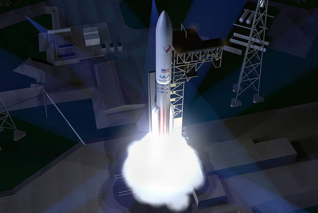 Тяжелая ракета Vulcan компании ULA (United Launch Alliance)