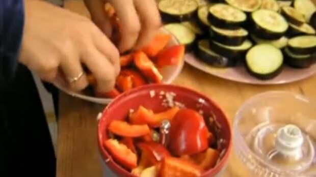 как приготовить баклажаны со сладким перцем